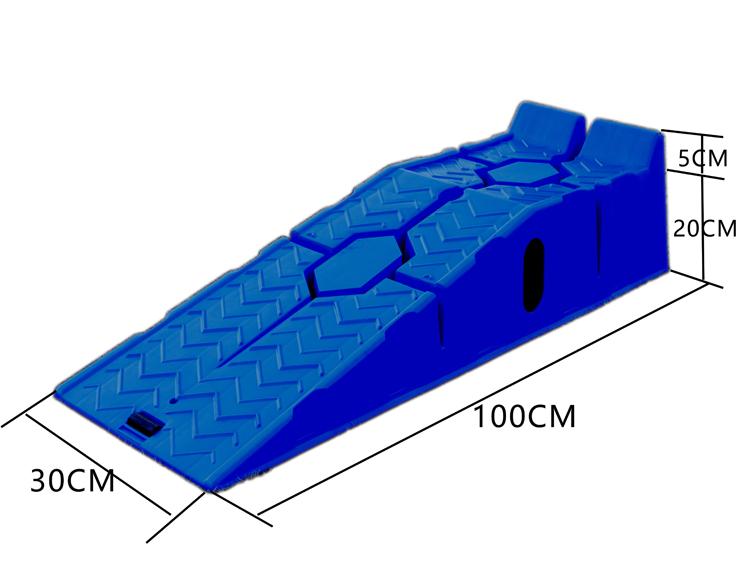 汽车保养支架 汽车塑料坡道